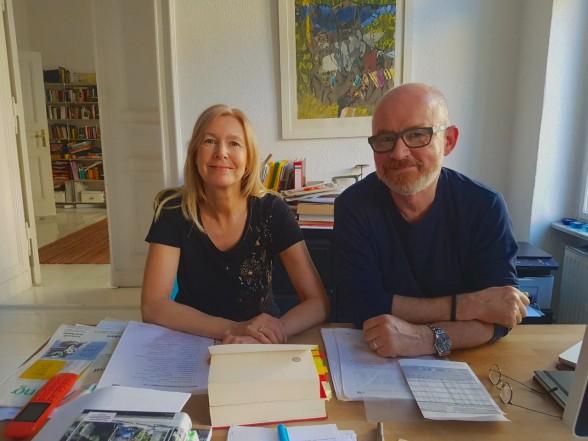 Christine Sievers und Nicolaus Schröder