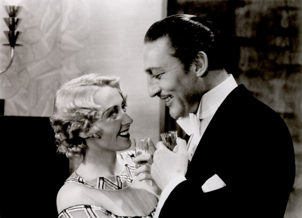 Joan Blondell und Warren William in GOLD DIGGERS, Mervyn LeRoy 1933